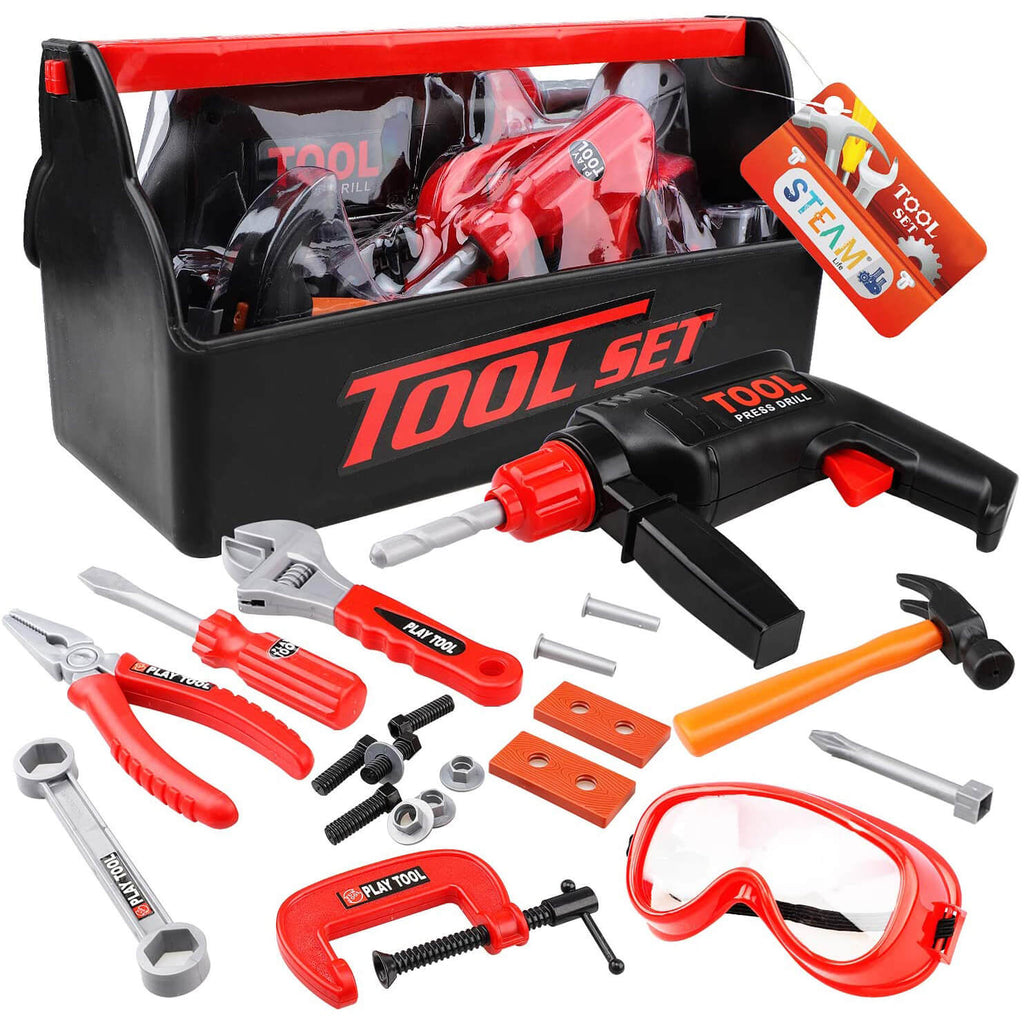 Kids Tool Set for Toddlers - Manual