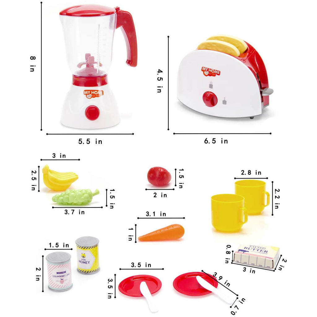 Toy Blender and Toy Toaster
