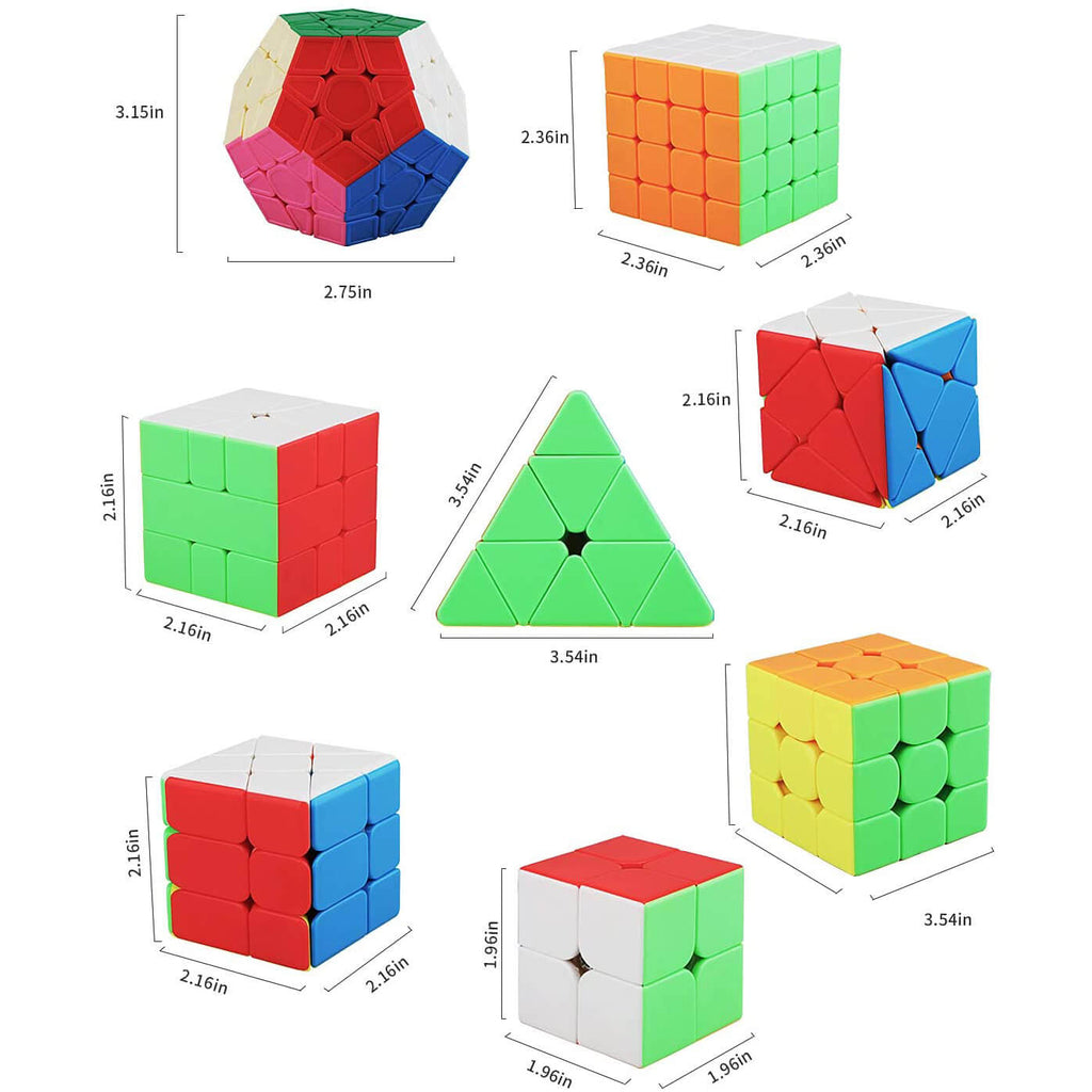 8 Pack Magic Cube