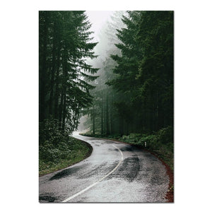 FOREST ROAD POSTER