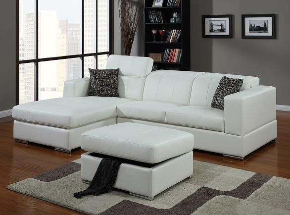 MIRAGE - SECTIONAL WITH ADJUSTABLE HEADREST
