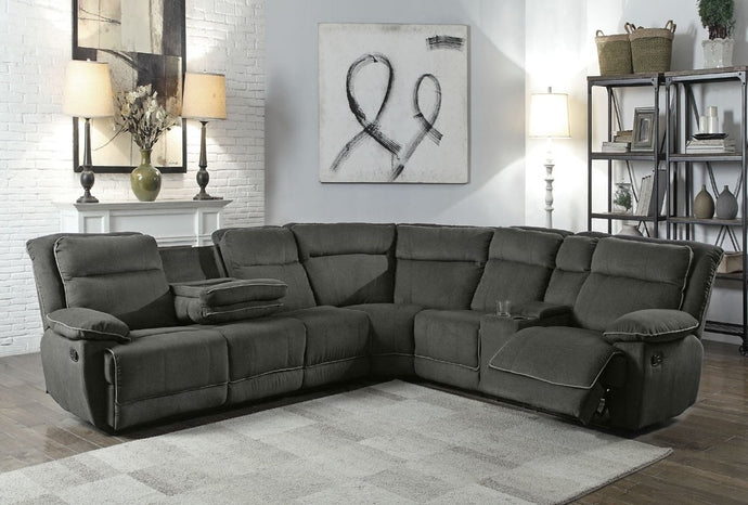 VOLVO - FABRIC RECLINER CORNER SECTIONAL