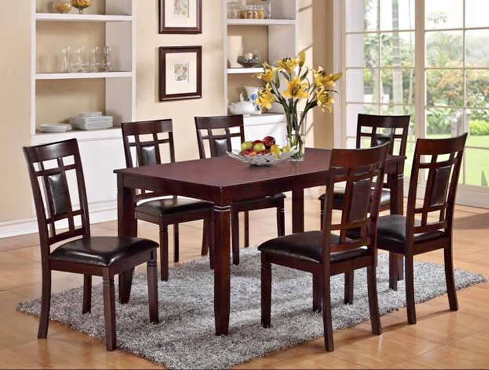 AARON  -DINING KITCHEN SET (5 PC OR 7 PC)