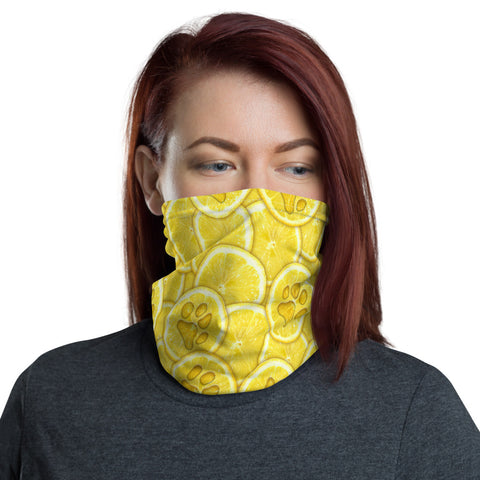 Very Lemony Neck Gaiter
