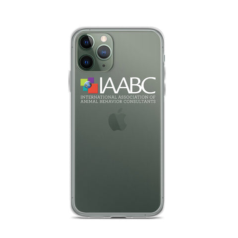 iPhone 11 Series Case White Logo