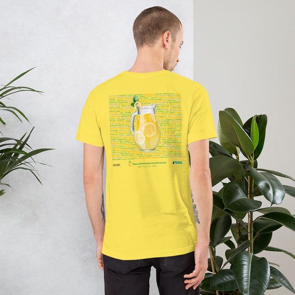 Lemon Pawprint / Pitcher Tee