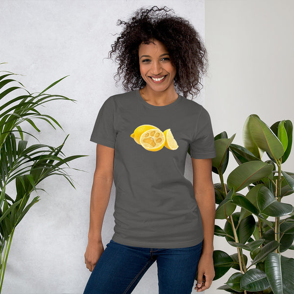 Dark Lemon Pawprint Tee