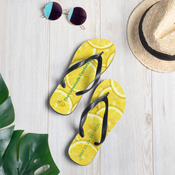 The Lemonade Conference Flip-Flops