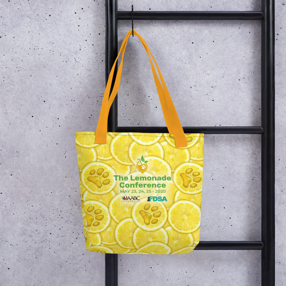Very Lemony Conference Tote