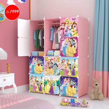 Load image into Gallery viewer, 12 Cube Cabinet - Princess