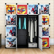 Load image into Gallery viewer, Spiderman DIY Cabinet for Kids