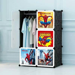 6 Cube Cabinet - Spiderman