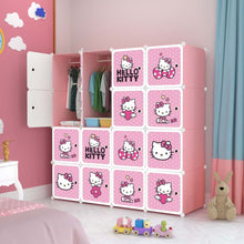 Load image into Gallery viewer, 16 Cube Cabinet - Hello Kitty