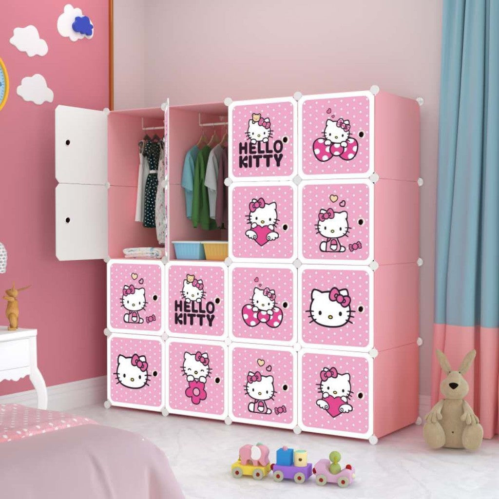 16 Cube Cabinet - Hello Kitty