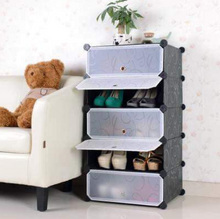 Load image into Gallery viewer, 5 layer Plastic shoes rack organizer