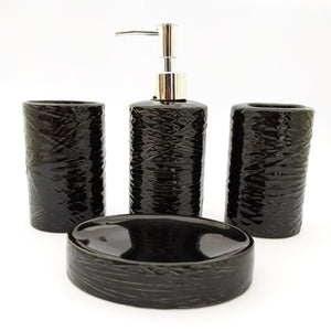 Black Twix Bath Set