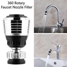 Load image into Gallery viewer, 360 Degree Rotate Faucet Nozzle Filter Kitchen Sprayer Head Water Saving Taps Applications