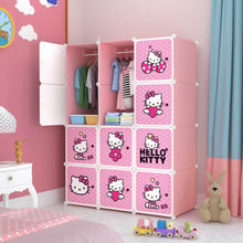 Load image into Gallery viewer, 12 Cube Cabinet - Hello Kitty