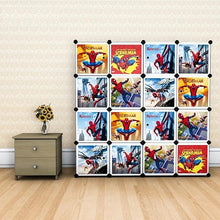 Load image into Gallery viewer, Diy 16 Cube Cabinet - Spiderman