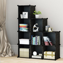 Load image into Gallery viewer, 9 Cube DIY Organizers- Black