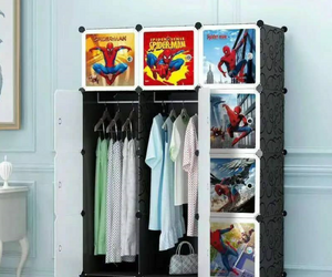 12 Cube Cabinet - Spiderman
