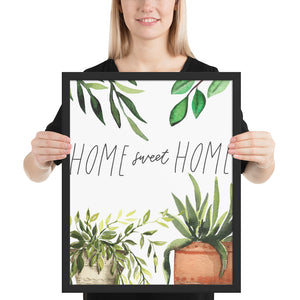 Home Sweet Home with Plants