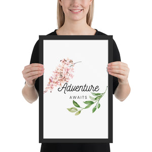 Adventure Awaits Quote