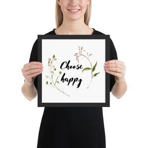 Choose Happy Quote