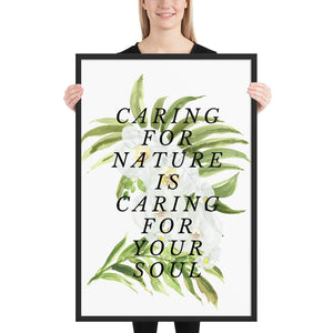 Caring for Nature Quote