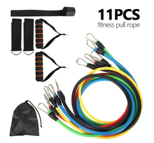 Load image into Gallery viewer, 11 Piece Ultimate Resistance Bands Set | Ultimate Fitness Bands