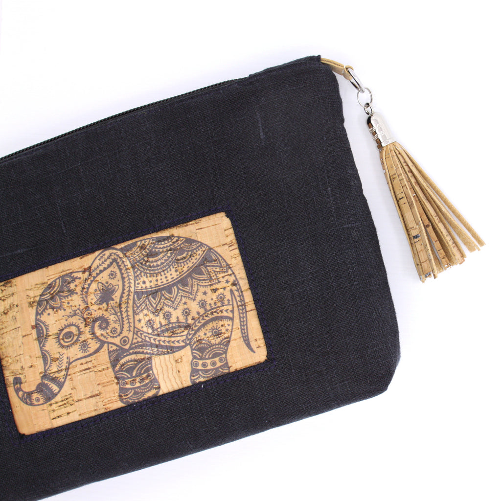 Zip Tab with built in Tassel!