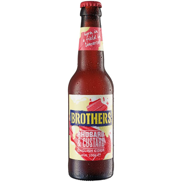 Brothers Rhubarb & Custard 330ml x 24