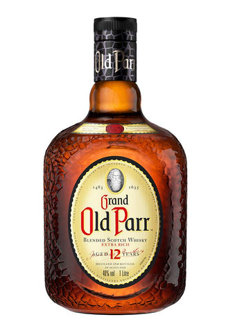 Grand Old Parr 12 years old Extra Rich Blended Scotch Whisky 750ml