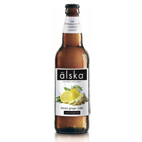 Alska Cider Lemon and Ginger 500mlx12