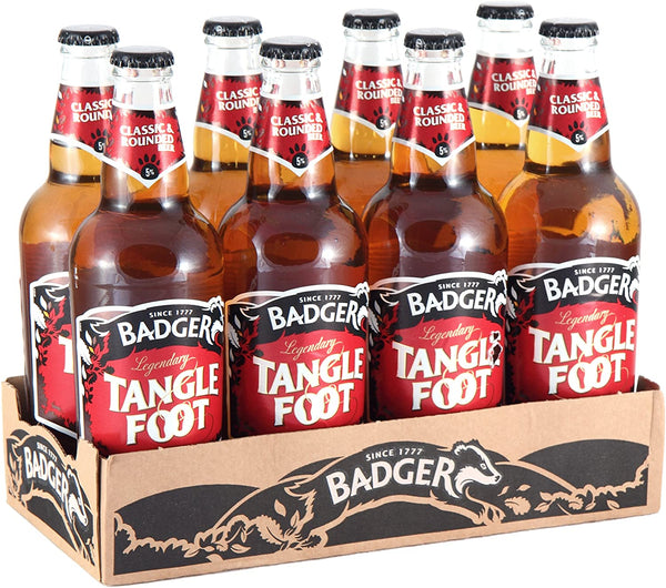 Badger Tangle Foot Ale 500ml Pack of 8