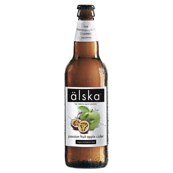 Alska Cider Passion Fruit and Apple 330mlx24