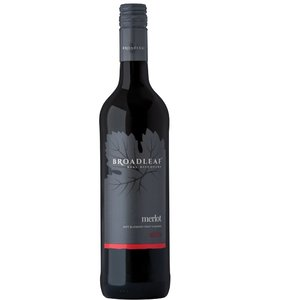Broadleaf 2018 Merlot Chile 750ml x6