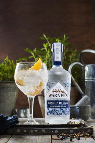 Warner's London Dry Gin 70cl