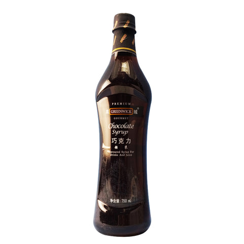 Greenwick Chocolate Flavoured Syrup 750ml