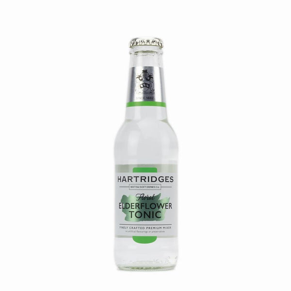 Hartridges Floral Elderflower Tonic 200ml x24