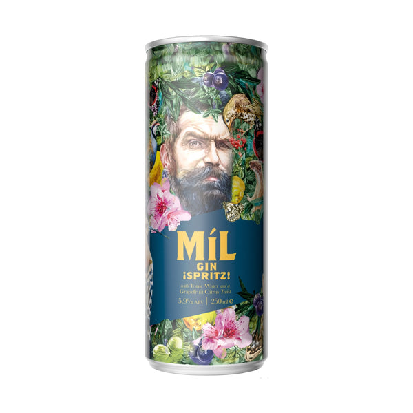 Míl Gin Spritz - 250ml x24 Can