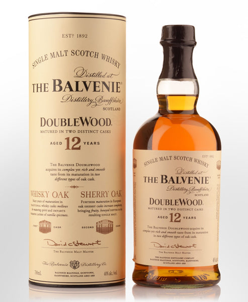 The Balvenie Doublewood 12 yrs old Single Malt Scotch Whisky 700ml