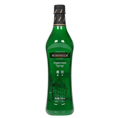 Greenwick Peppermint Flavoured Syrup 750ml