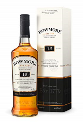 Bowmore 12 years old Single Malt Scotch Whisky 700ml