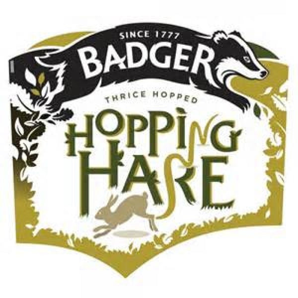 Badger Hopping Hare  30L Key Keg