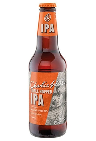 Charlie Wells Triple Hopped IPA 330ml x24