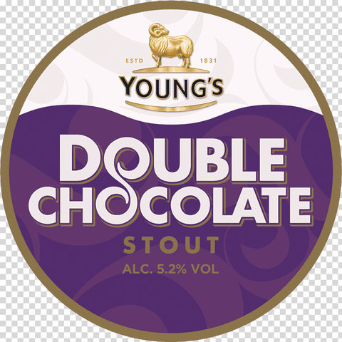 Youngs Double Chocolate Stout 30L Metal Keg