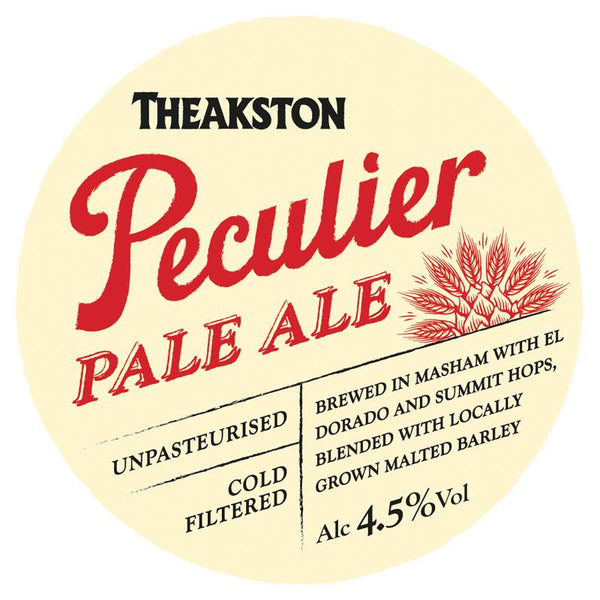 Theakston Peculier Pale Ale 30L Keg