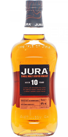 The Isle of Jura Single Malt Whisky 10 years old