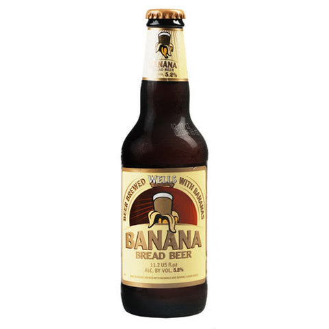 Wells Banana Bread Beer 330ml x24